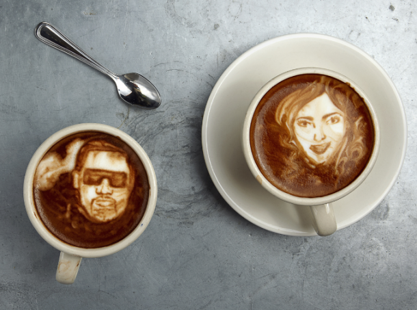 coffee artist-Mike Breach