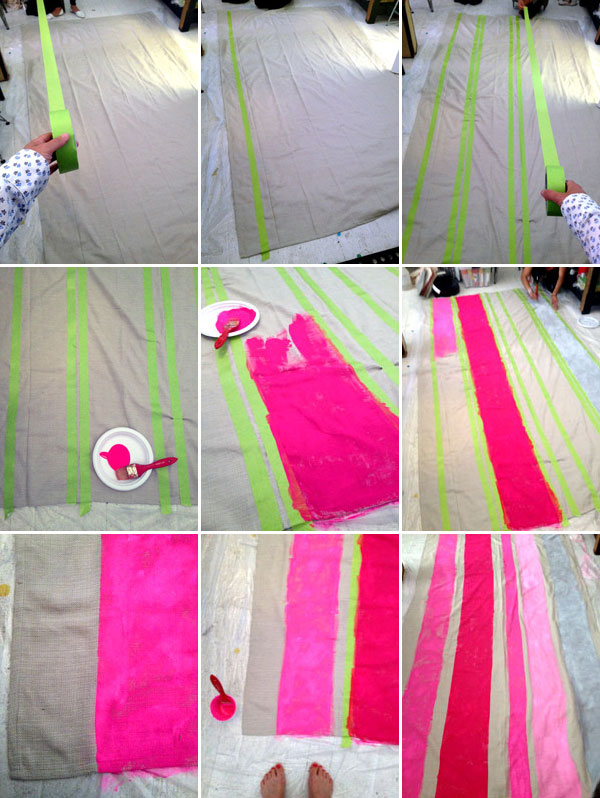 neon tablecloth-1