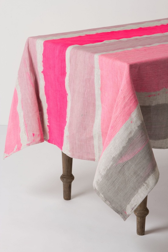 Table cloth from Anthropologie