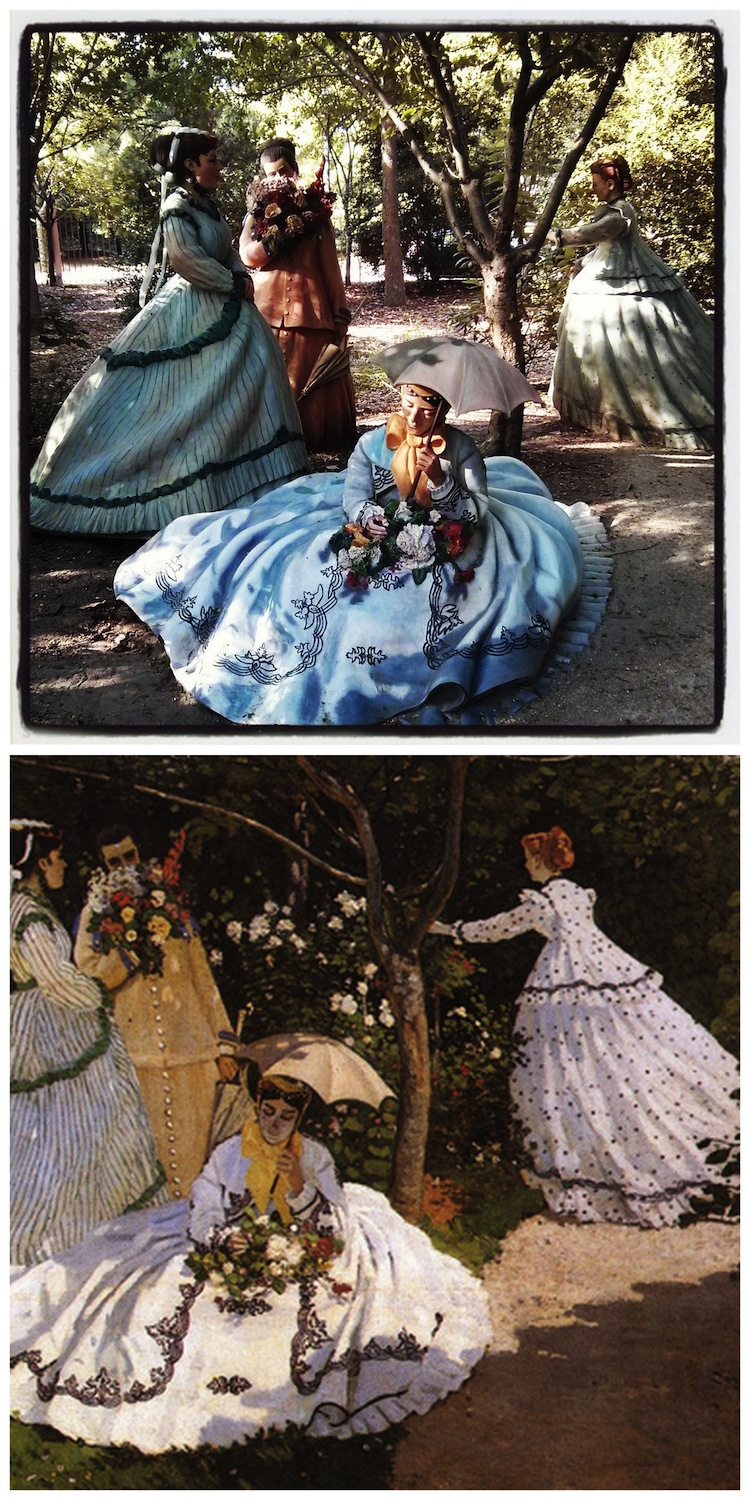 Seward Johnson - Monet Women in the Garden