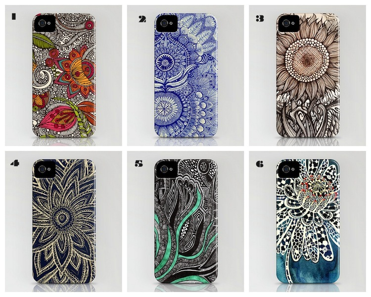 A Bolt of Blue - Society Six Iphone cases