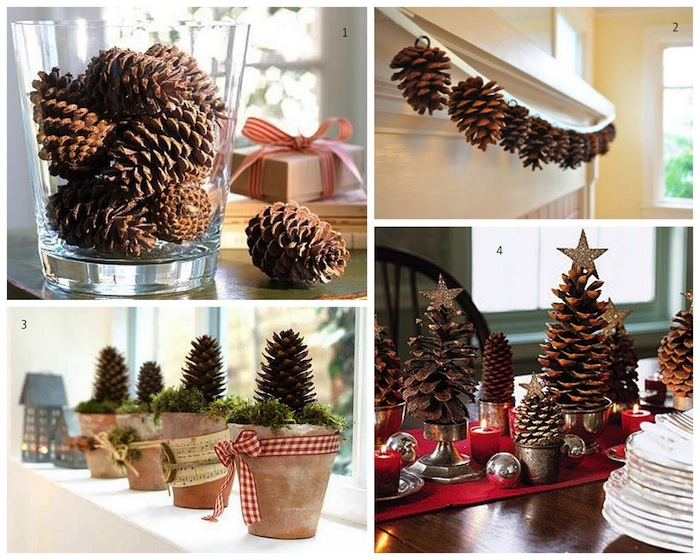 A Bolt of Blue - Cool Ideas...PINECONES!