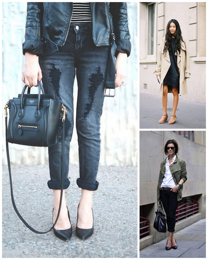 A Bolt of Blue - Spring Street style