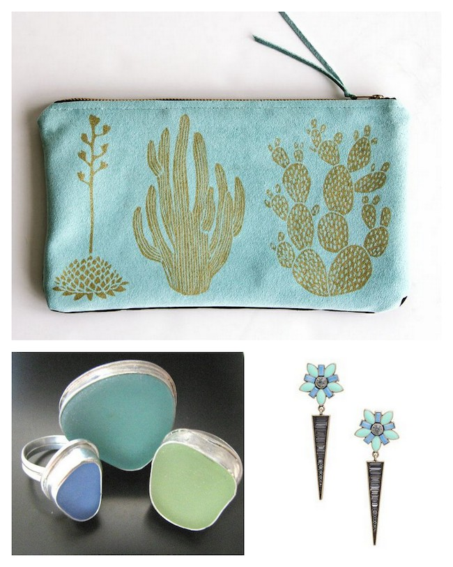 A Bolt of Blue - Spring Accessories!