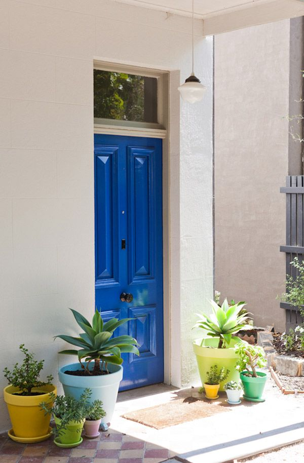A Bolt of Blue - Curb Appeal