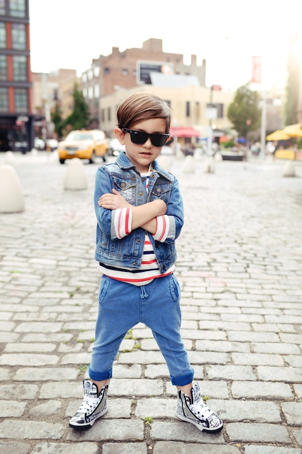 A Bolt of Blue - Enfant Street Style