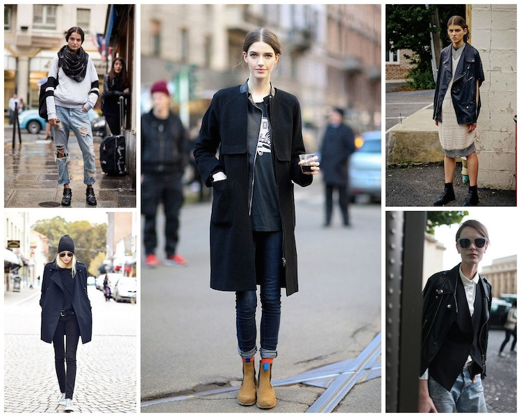 A Bolt of Blue - Fall Street Style!