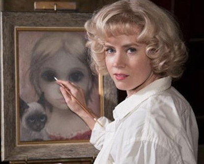 A Bolt of Blue - Big Eyes: Margaret Keane