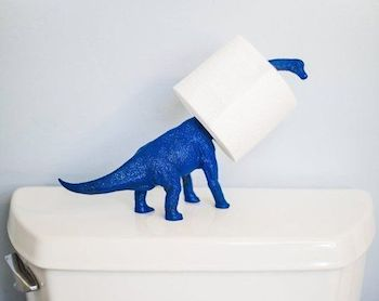 A Bolt of Blue - Cool idea:Plastic animals