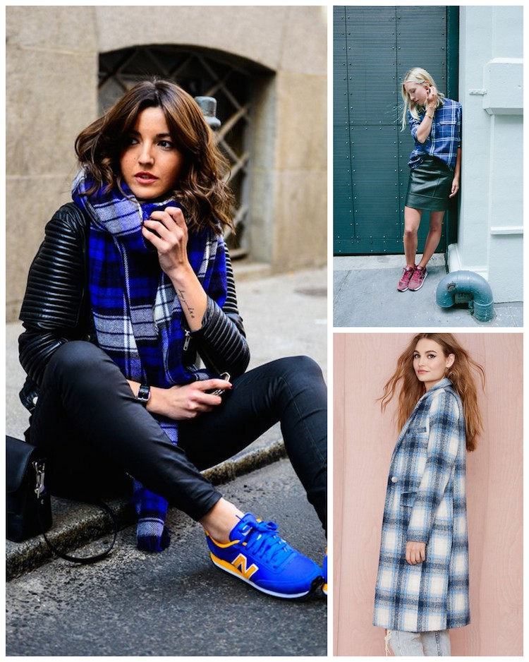 A Bolt of Blue - PLAID!