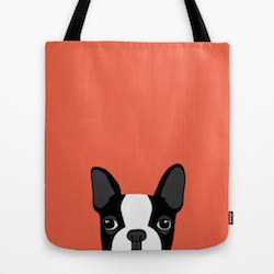 A Bolt of Blue - Society 6 Tote Bags