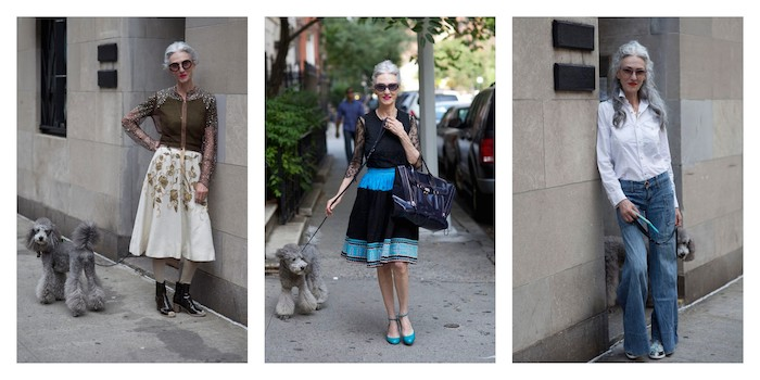A Bolt of Blue - Style Icon: Linda Rodin