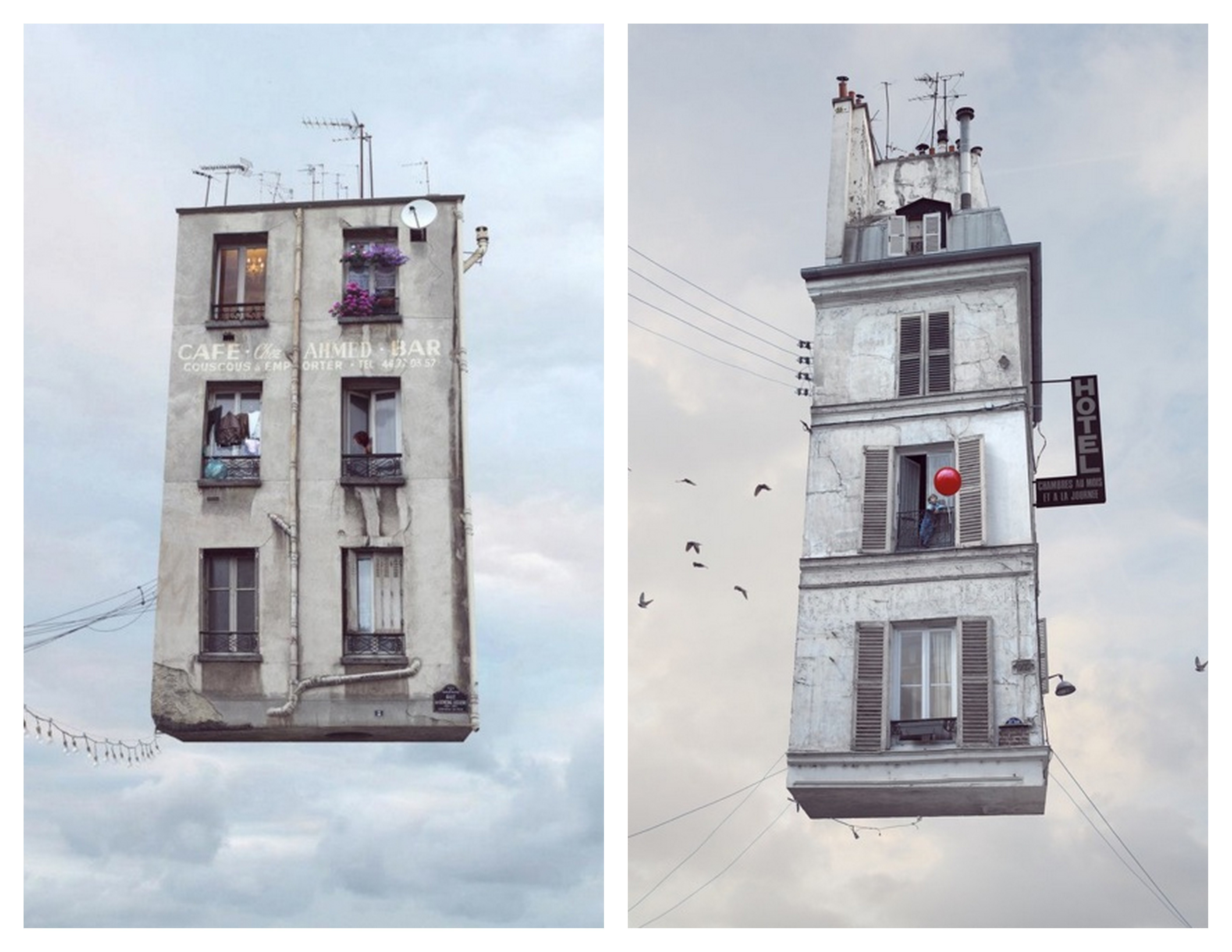 A Bolt of Blue - Laurent Chehere:Floating Houses