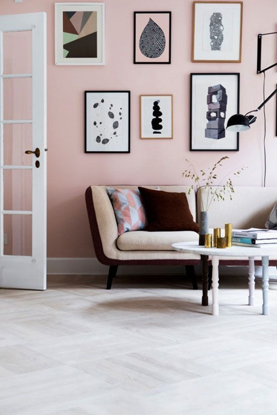 A Bolt of Blue - Decor: Think PINK!