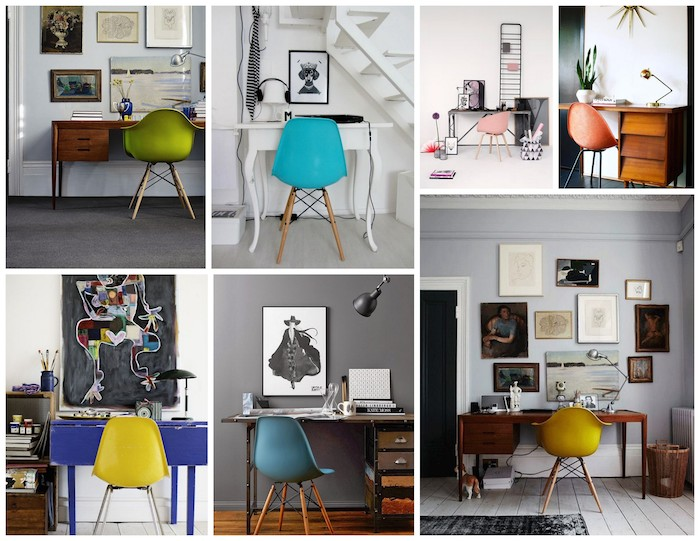 A Bolt of Blue - Colorful Office Chairs