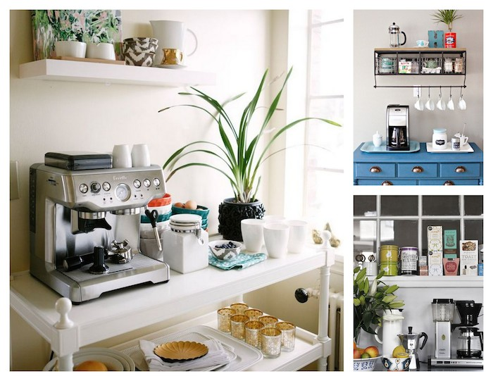 A Bolt of Blue - Coffee stations