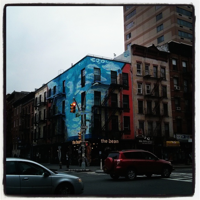 A Bolt of Blue - The East Village, NYC