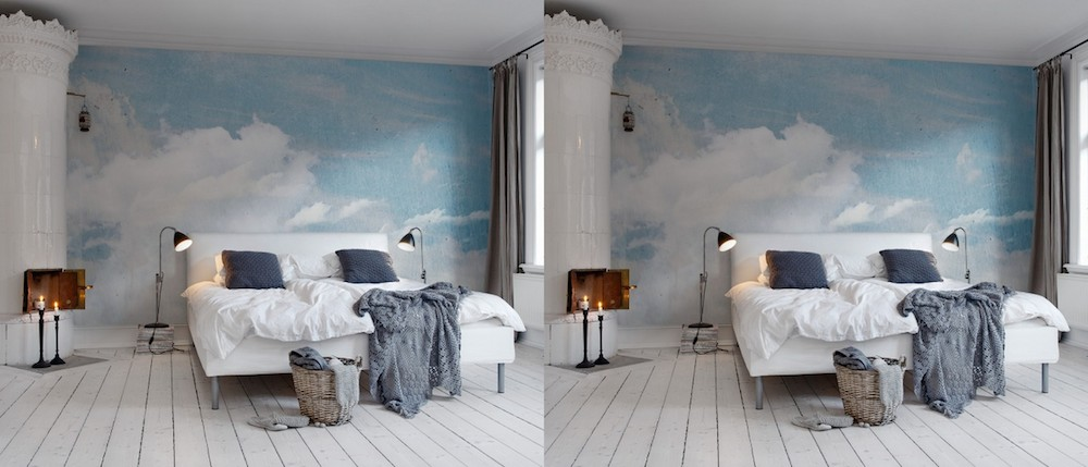 A Bolt of Blue - Summery Bedrooms