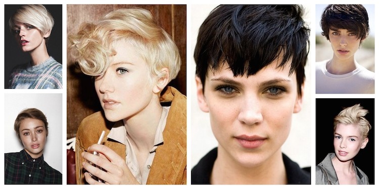A Bolt of Blue - Short Hair for Summer!