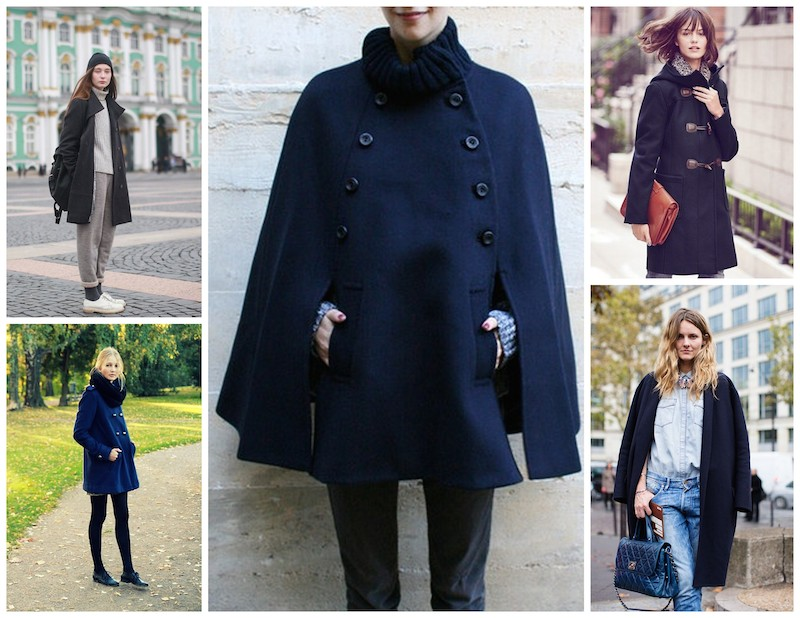 A Bolt of Blue - Fall Fashion inspiration