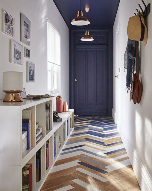 A Bolt of Blue - Entry Ways!
