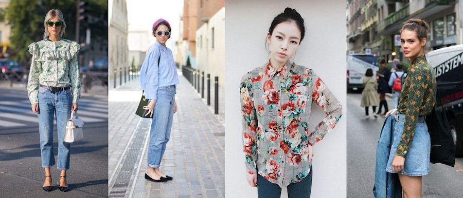 A Bolt of Blue - Spring Fashion Inspiration